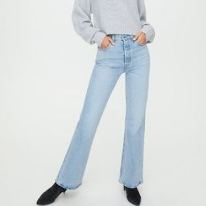 Levi's 70's High Waisted Bell Bottom Jeans